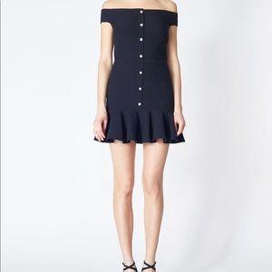 BNWT Veronica Beard Winnie Mini Flounce Dress 0